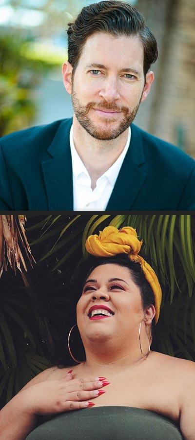 Adam Dodge and Yesika Salgado