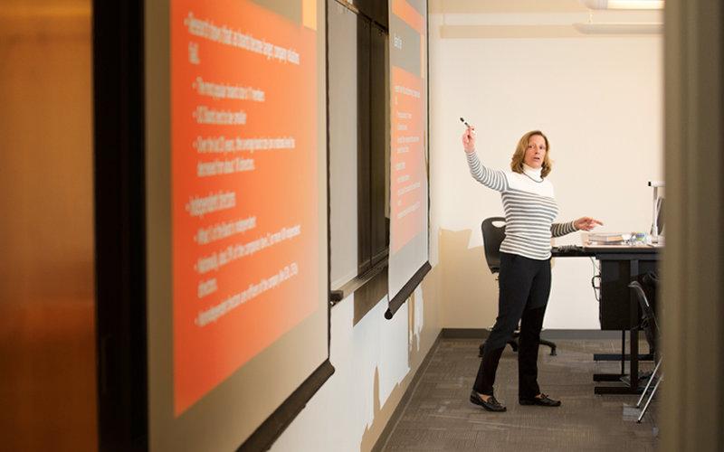 April Morris Teaching