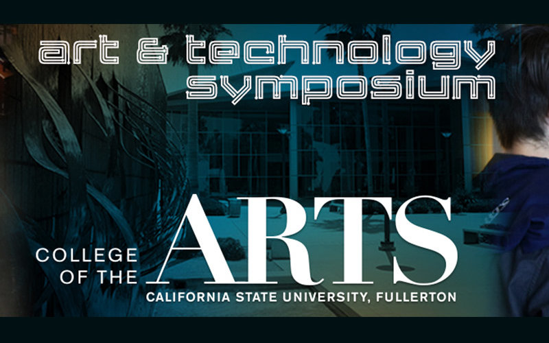 Arts Technology Symposium Program Art