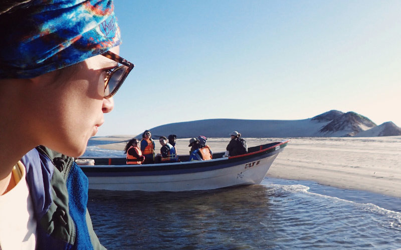 Students Boat Research