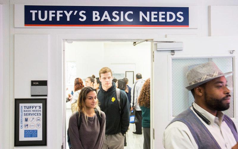 Tuffy's Basic Needs Center on opening day.