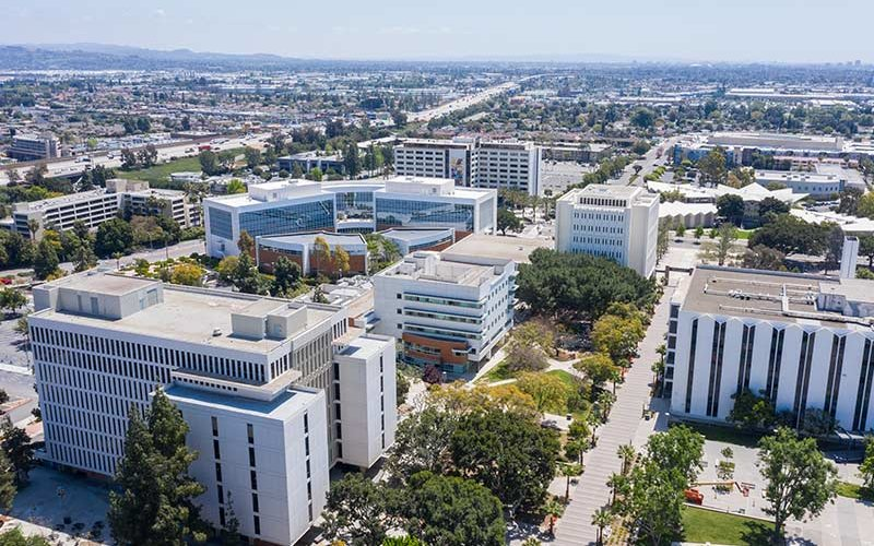 CSUF Aerial view.