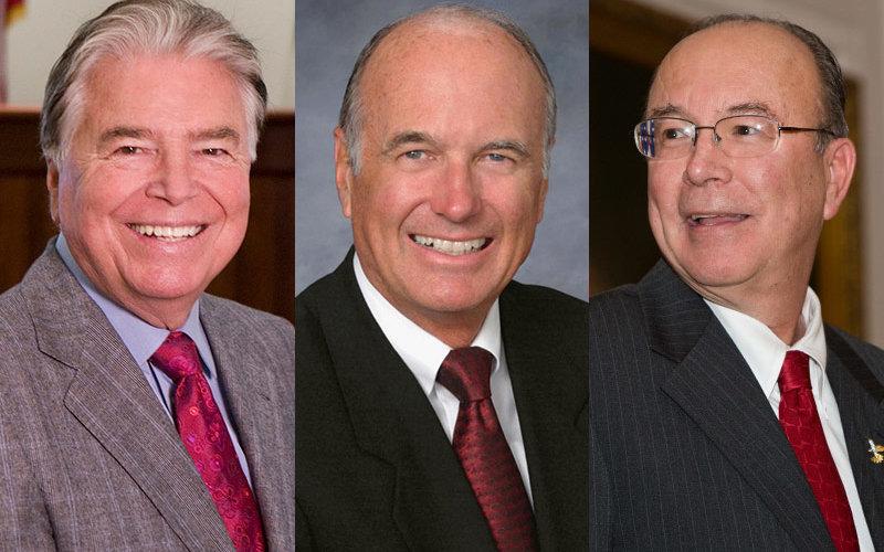 Wylie Aitken, Dick Ackerman, Tom Fuentes