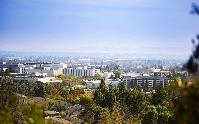 CSUF Main campus.