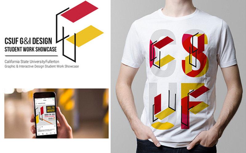 CSUF T-Shirt Design Work