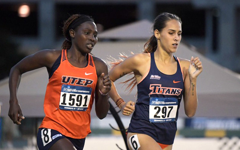 CSUF Track competition.