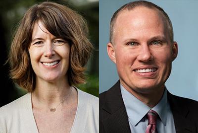 Carolyn Thomas and David Forgues