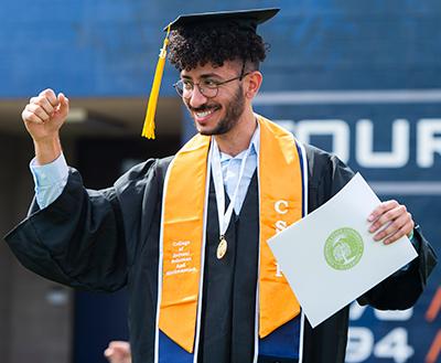 Celebrating Graduate