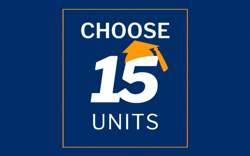 Choose 15 Units Graphic