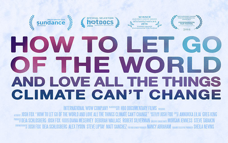 Climate Change Poster Isolated