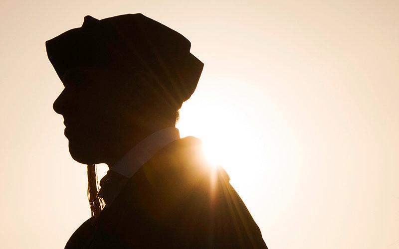 Graduate shillouette