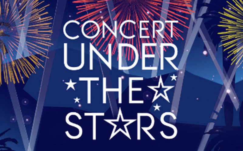 Concert Under the Stars promotional art.