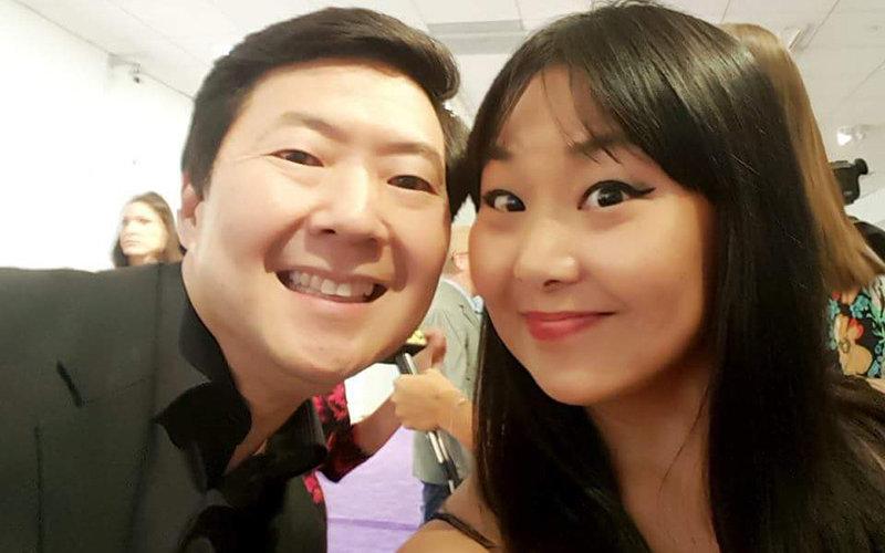 Photo of Ken Jeong and Laura Sirikul