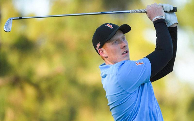 CSUF Golfer Dalton Daniel