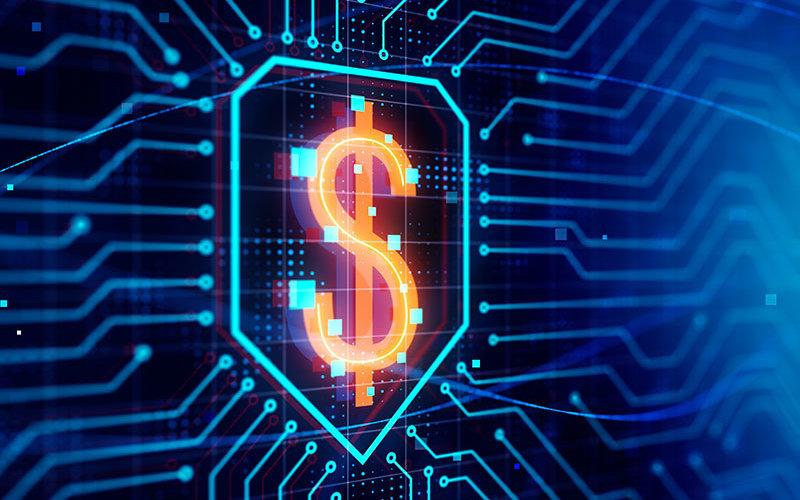 Digital Currency illustration.