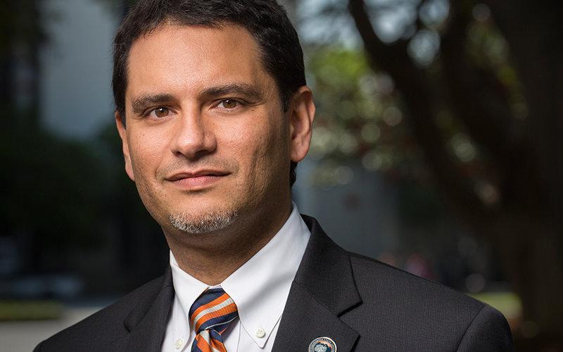 Provost Jose Cruz