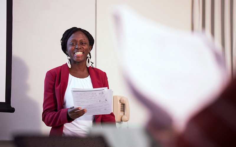 Educator in Classroom