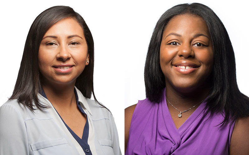 Lucia Alcala and Patrice Waller