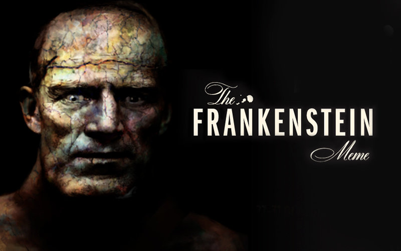Frankenstein Meme Art