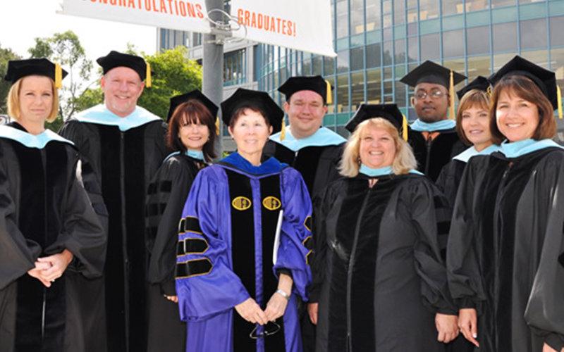 Education Doctorate Graduating Class