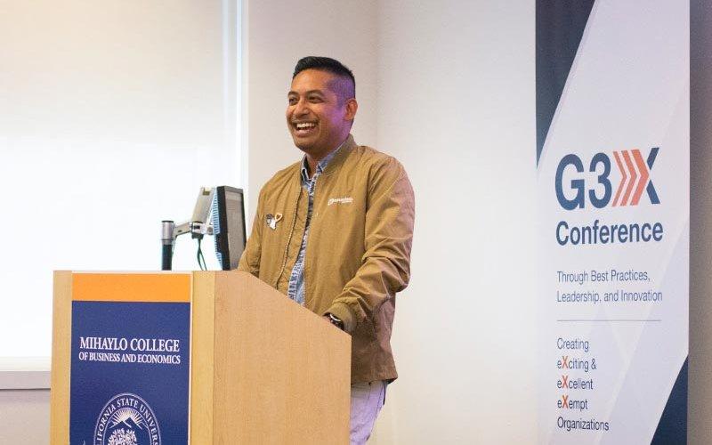 G3X Conference Presenter