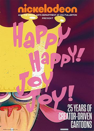 Happy Happy Joy Joy postcard