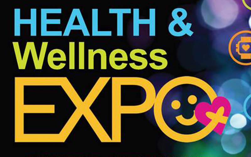 Health Wellness Expo Graphic