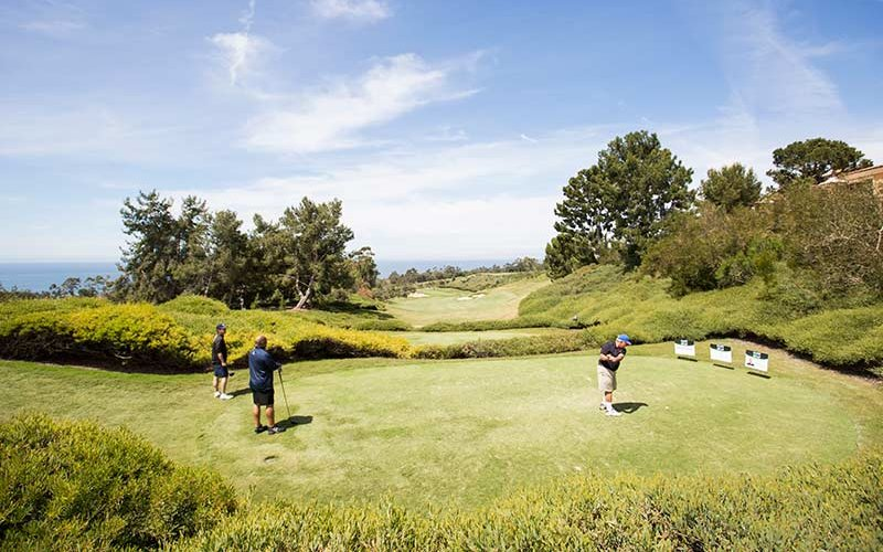 Pelican Hills Golf Course with Golfers