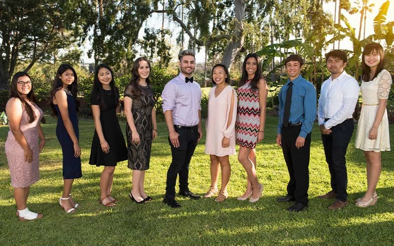 President's Scholars Incoming Class