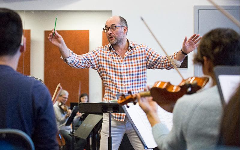 Talich Quartet in rehearsal.