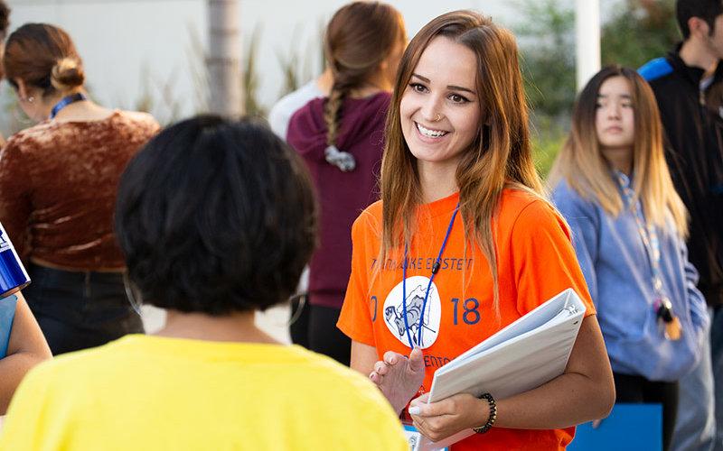 Peer Mentor Jessica Sherman