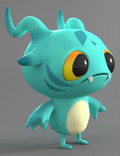 Frog-like Character.