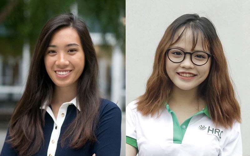 Josephine Ngo and Phuong Nguyen