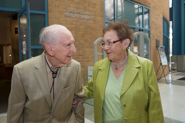 June and George Pollak