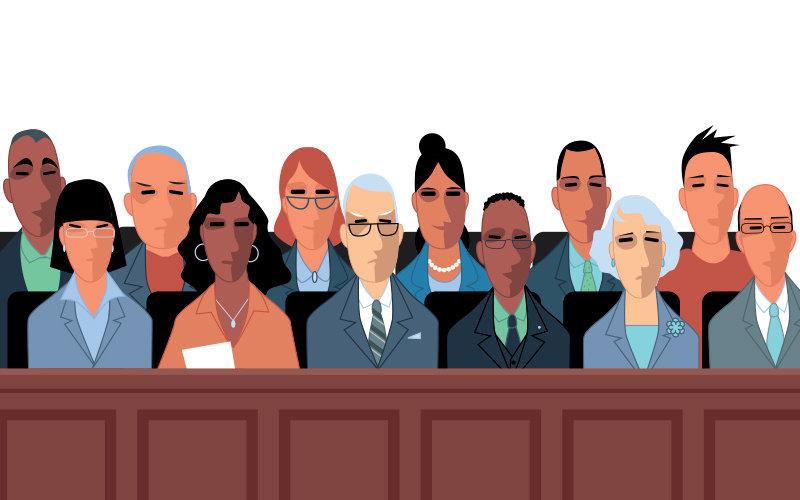Jury illustration