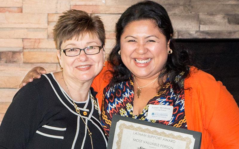 Latham Support Award
