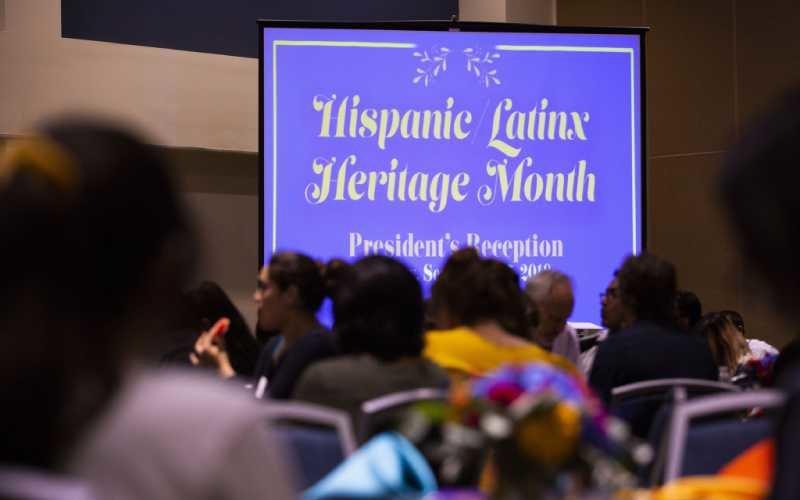 Latinx Heritage Month Reception
