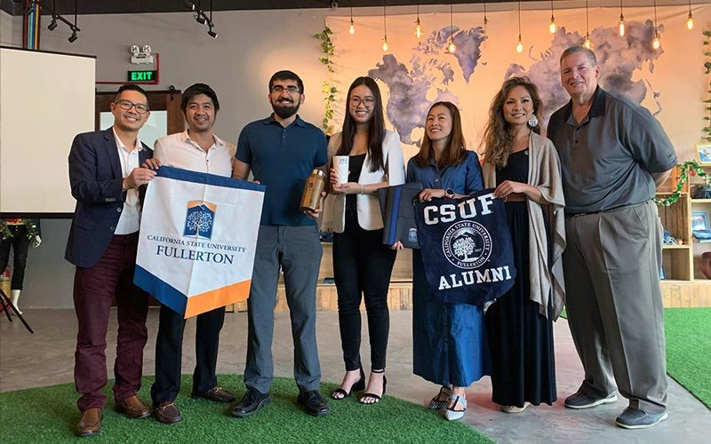 CSUF students in Southeast Asia
