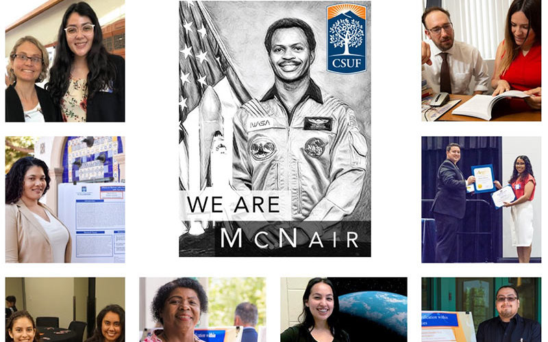 Mcnair Scholars Collage of Graduates and Ron McNair