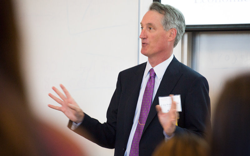 Chip Rathmell '86, Morgan Stanley Certified Investment Mangement Analyst
