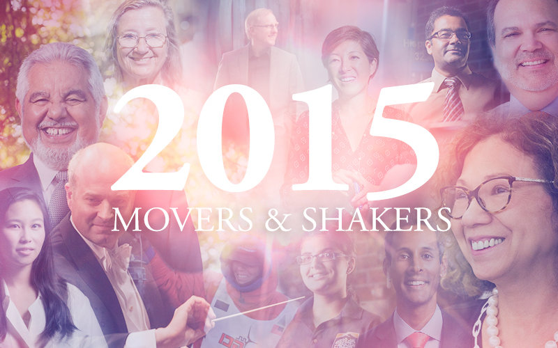 Movers and Shakers of 2015