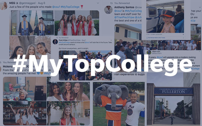 My Top College Winning collage of posts.