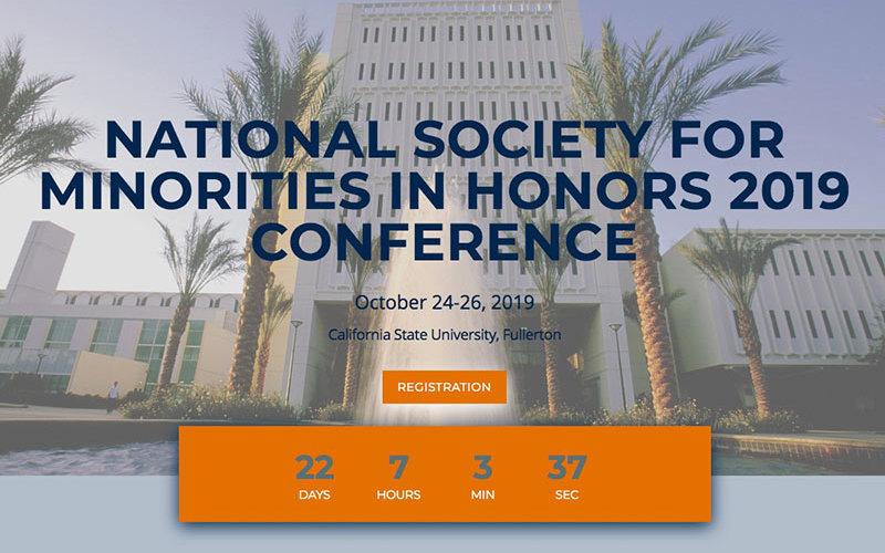 National Society Minorities Honors Banner