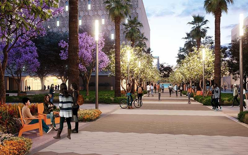 Rendering of new Titan Promenade