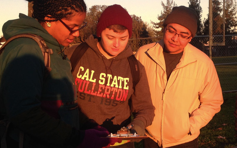 Students Counting Homeless