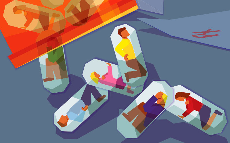 Opioid Crisis illustration