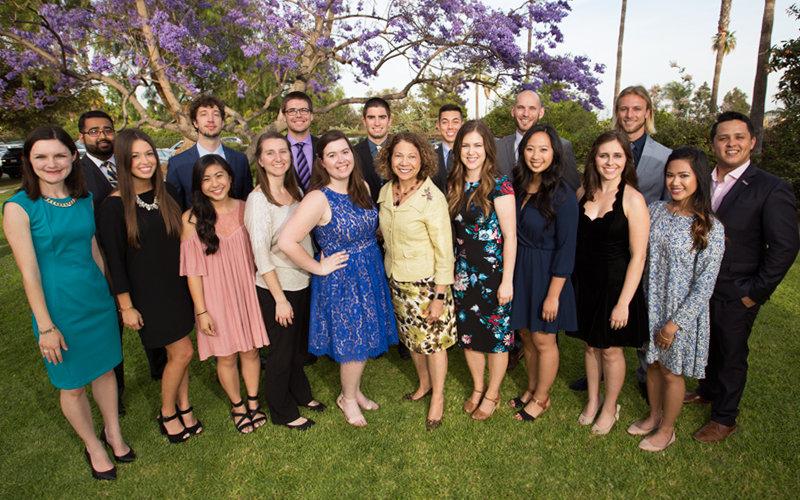 Graduating Presidents Scholars