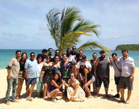 Puerto Rico Study Abroad Group