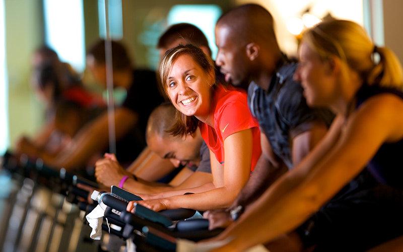 Recreation Center Exercising