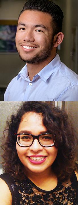 Erick Aguinaldo and Adriana Solis